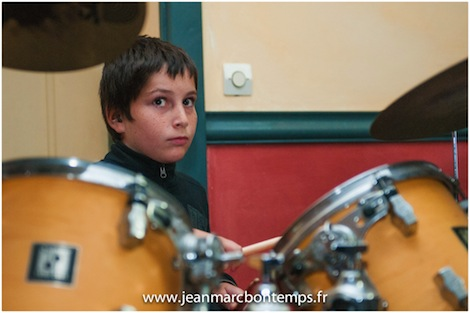 Elève batteur Musiques Actuelles