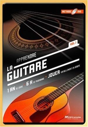 Méthode DVD pour apprendre la guitare