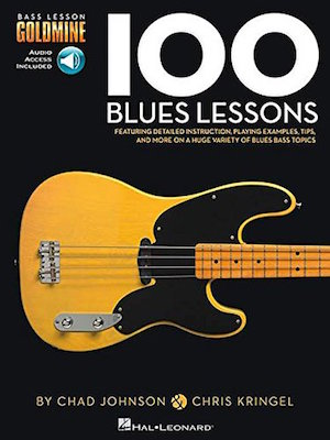 100 Blues Lessons Bass