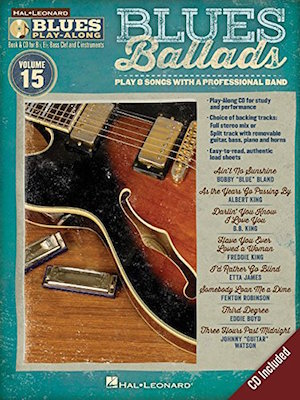 Ballads Blues Play-Along Vol.15