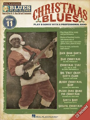 Christmas Blues Play-Along Vol.11