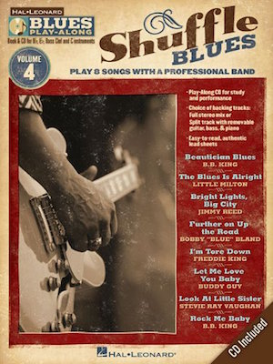 Shuffle Blues Play-Along Vol.4