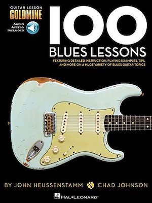100 Blues Lessons Guitar