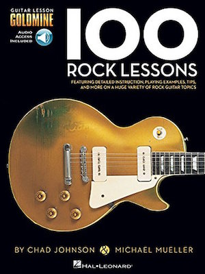 100 Rock Lessons Guitar