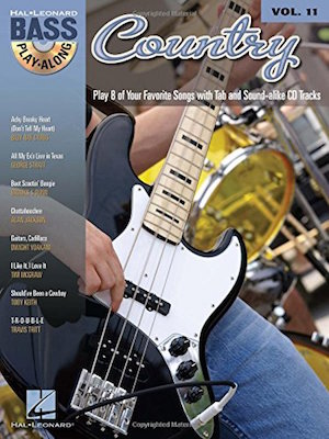 Bass Play-Along Volume 11 Country