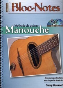 Bloc Notes Guitare Manouche